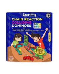Smartivity Chain Reaction Colliding Dominoes S. T. E. M. Educational DIY Toy