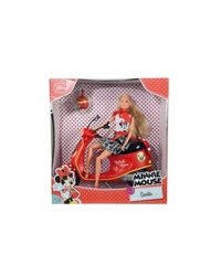 Simba Steffi Love Disney Minnie Mouse Scooter Doll, Multi Color (29cm)