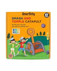 Smartivity Smash And Topple Catapult S. T. E. M. Educational DIY Toy