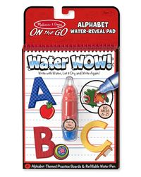 Melissa and Doug Water Wow Activity Book, Alphabet