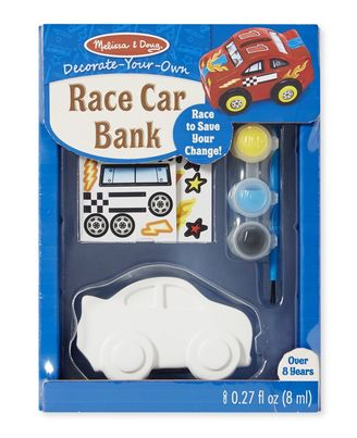 Melissa & Doug Race Car Bank - DYO