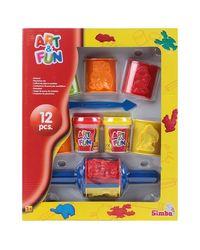 Simba Art and Fun Plastic Dough Set (2 Assorted)