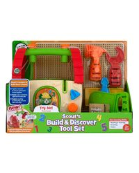Leap Frog Scouts Build and Discover Tool Set