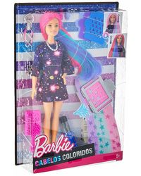 Barbie Hair Feature Doll - Color Surprise, Multi