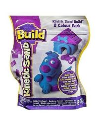 Kinetic Sand Build 2 Colour Pack Assorted