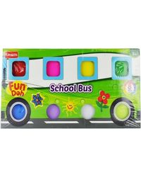 Fun doh school bus