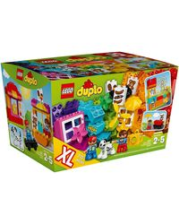 Lego Duplo Creative Building Basket, Multi Color