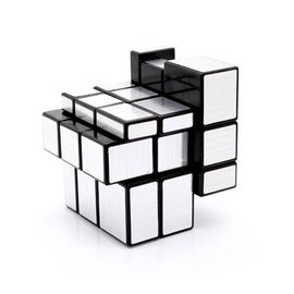 New Shengshou Magic Mirror 3* 3 Silver ABS Cube Rubik Silver Or Golden