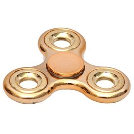Photron PH-FDE60 Fidget Spinner Hand Spinner Toy Stress Reducer Ultra Durable HighSpeed Ceramic Bearing Finger Toy GUARANTEED 1.5+ mins SpinTime Perfect for ADD ADHD Anxiety Autism Stress Relief (CHROME EDITION)