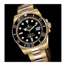 ROLEX SUBMARINER FULL GOLD BLACK DIAL