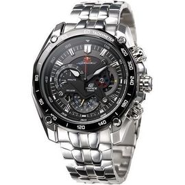 100% Authentic Imported CASIO EDIFICE EF550RBSP-1AVDR RED BULL RACING with Tachymeter