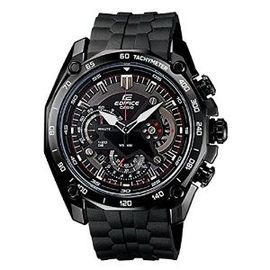 Casio Edifice EF-550PB-1AVDF (ED402) Chronograph Black Dial Men's Watch