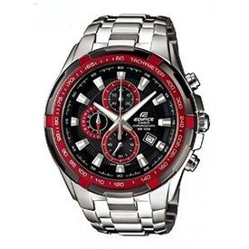 CASIO EDIFICE EF-539d-1A4V DF BLACK & RED DIAL MEN s WATCH