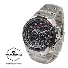 100% Authentic Imported Casio Edifice Quatto-Dial Chronograph Watch EF554D-1A