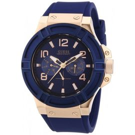 Guess Analog Blue Dial Men's Watch