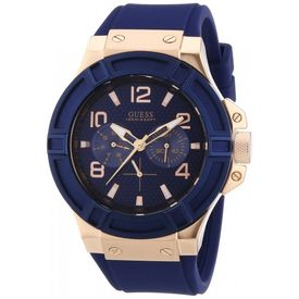 Guess Analog Blue Dial Men s Watch