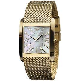 NEW Emporio Armani Men' s gold watch uhr montre chrono slim - AR2016