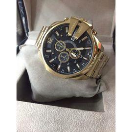 Diesel Golden Strip Watch